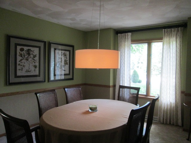 Formal dining room update modern dining room other for Updating a traditional dining room