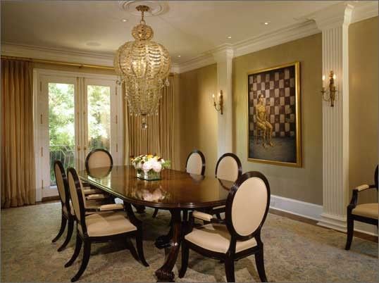 Hbd breakdown toronto maple leaf jerseys hockey by design for Traditional formal dining room ideas