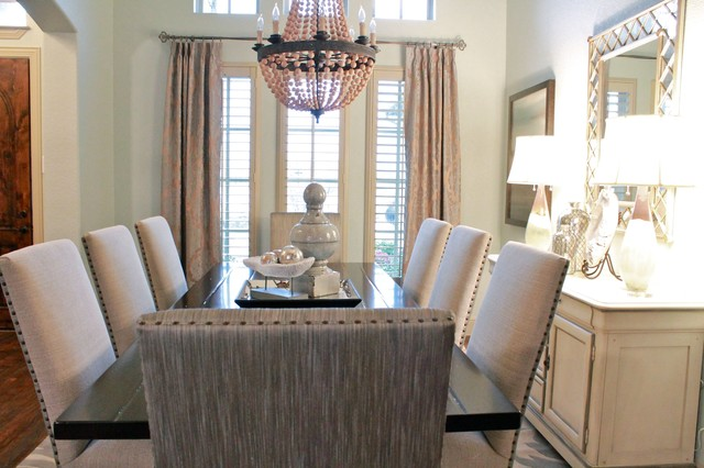 Formal Living And Dining Fresh Design Transitional Dining Room