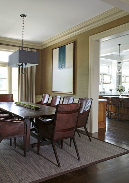 Greenwich Ct Home Iv Traditional Dining Room Dallas By S B Long Interiors