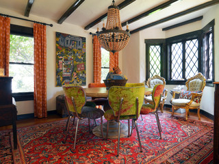 Fort Worth, TX: Mike & Ann Williams - Eclectic - Dining Room - dallas - by Sarah Greenman