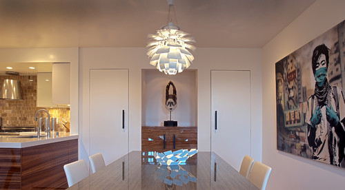fougeron architecture contemporary dining room - Contemporary Dining Room Chandelier