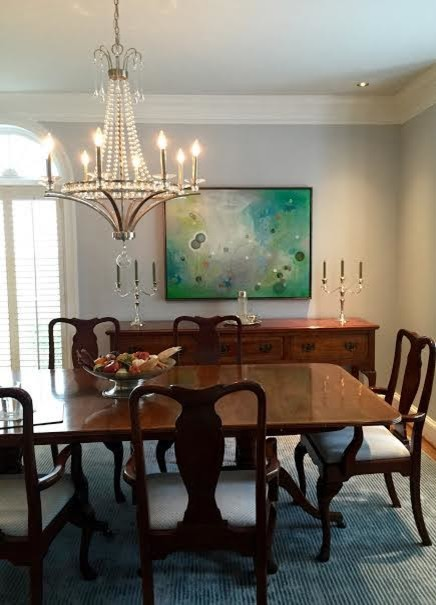 Frames In The Home Traditional Dining Room Atlanta