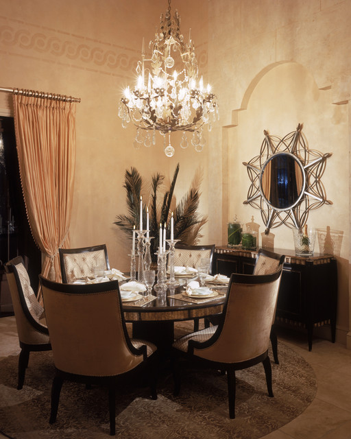 Franco A. Pasquale Design Associates, Inc. mediterranean dining room