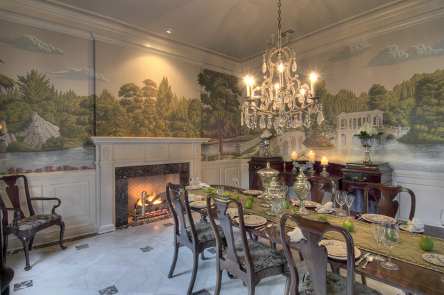 Frederica Residence traditional-dining-room