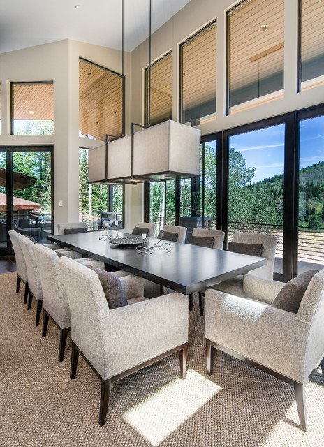 Freeman Residence Contemporary Dining Room