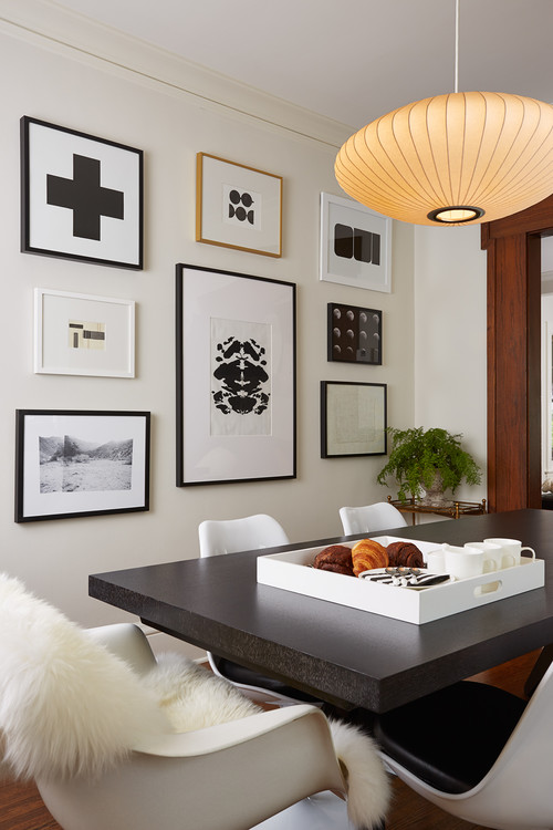 "How to Hang Wall Art: Always hang your artwork at 57"" on center."