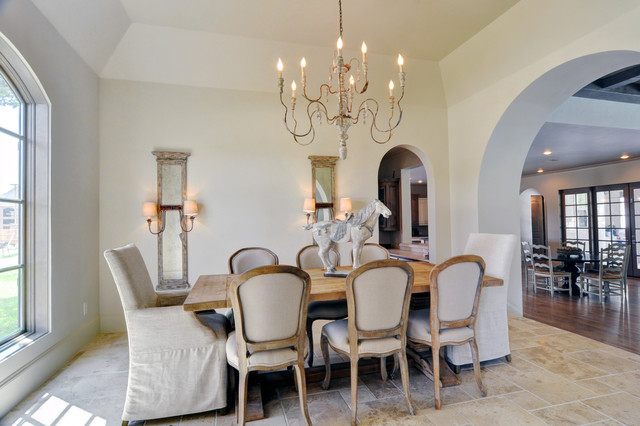 French 2012 Contemporary Dining Room Dallas By Braswell Homes Inc
