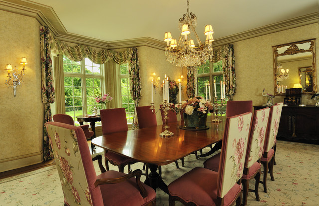 French Chateau mediterranean-dining-room