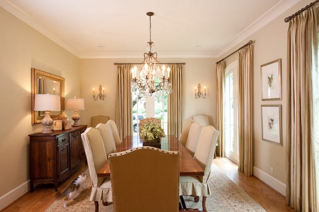 French Country Traditional Dining Room