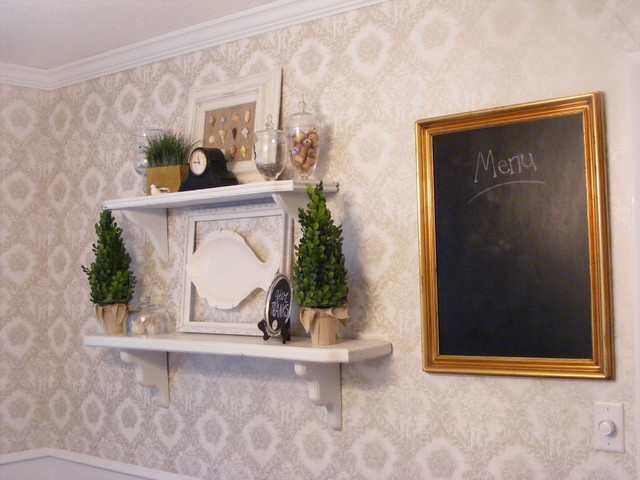 French Country Dining Room by Linda Hilbrands traditional-dining-room
