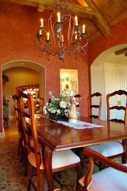 French Country Farm House 'Dining Room' mediterranean-dining-room