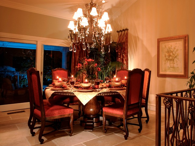 French Country In Laguna Hills Ca Traditional Dining Room Orange County By Kk Design Koncepts