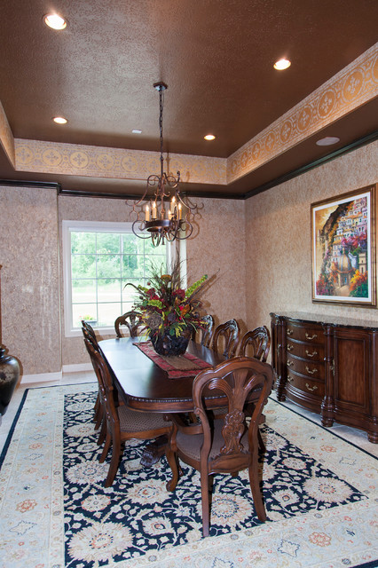 french country in magnolia tx rustic dining room by j w neathery inc. Black Bedroom Furniture Sets. Home Design Ideas