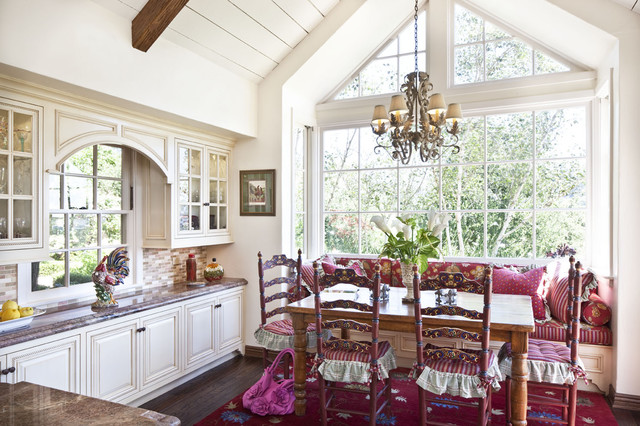 French Country Kitchen Traditional Kitchen Los