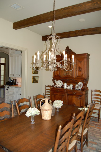 french country lighting traditional dining room houston by