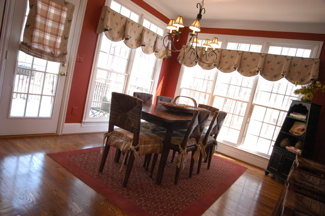 French Country Living traditional-dining-room