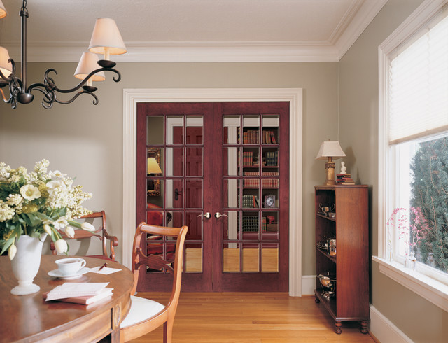 french doors modern dining room sacramento by