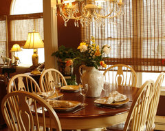 French-Inspired kitchen traditional-dining-room