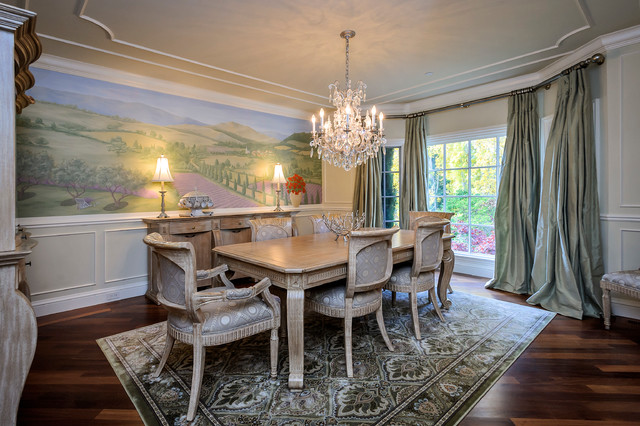 French provincial home traditional dining room san for Dining room design questions
