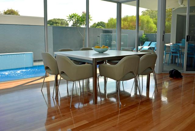 Fresh Family Home contemporary-dining-room