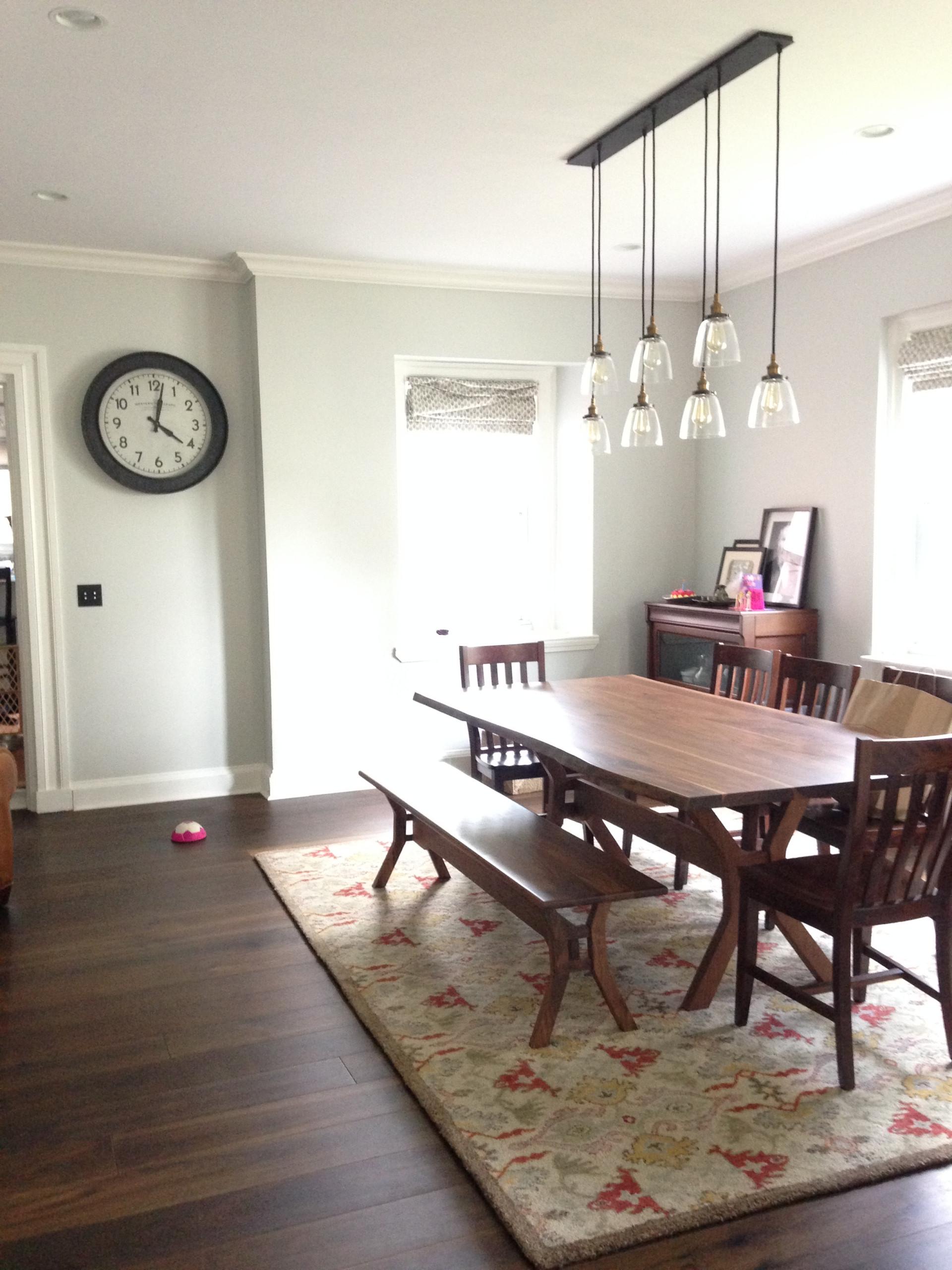 Fresh, modern dining room