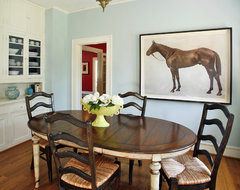 Ft. Worth Historical Residence traditional-dining-room