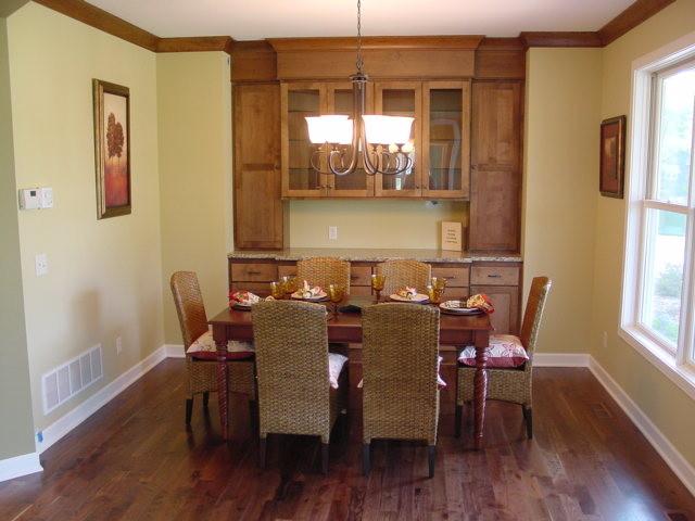 full height dining room hutch