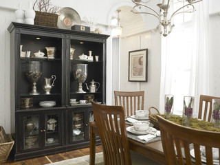 fun on location eclectic dining room