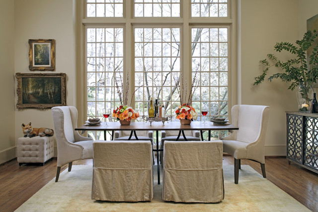 Gabby 6 Sophisticated Transitional Dining Room Traditional