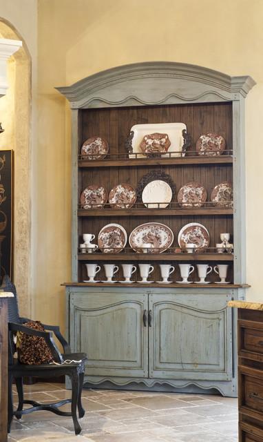 Gaillardia show home rustic-dining-room