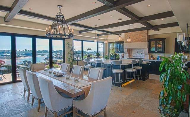 Galaxy - Custom Home Entertainment System mediterranean-dining-room