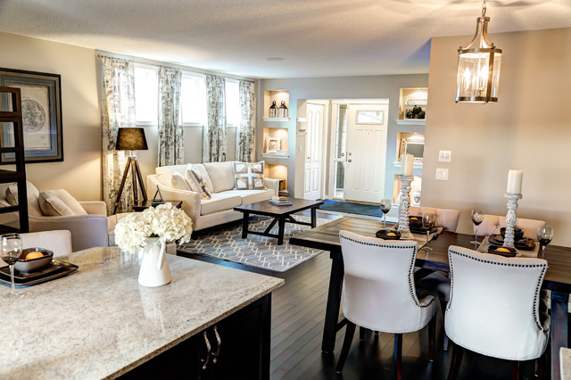 Galea Showhome in Legacy in SE Calgary contemporary-dining-room