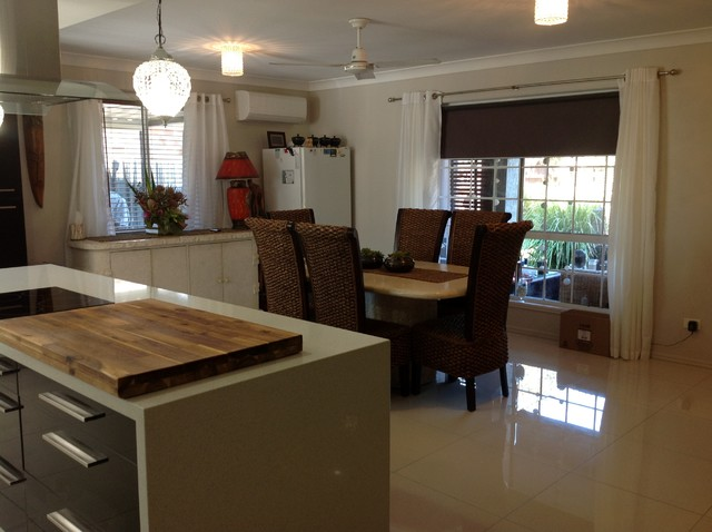 Galley Kitchen Traditional Dining Room Brisbane By