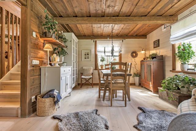Gamla Väsbyvägen casa-de-campo-comedor
