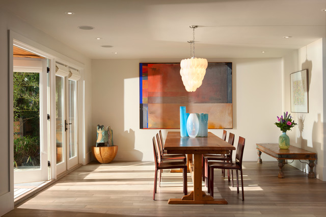 Garden House - eclectic-dining-room