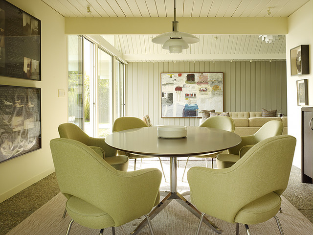 contemporary dining room by Gary Hutton