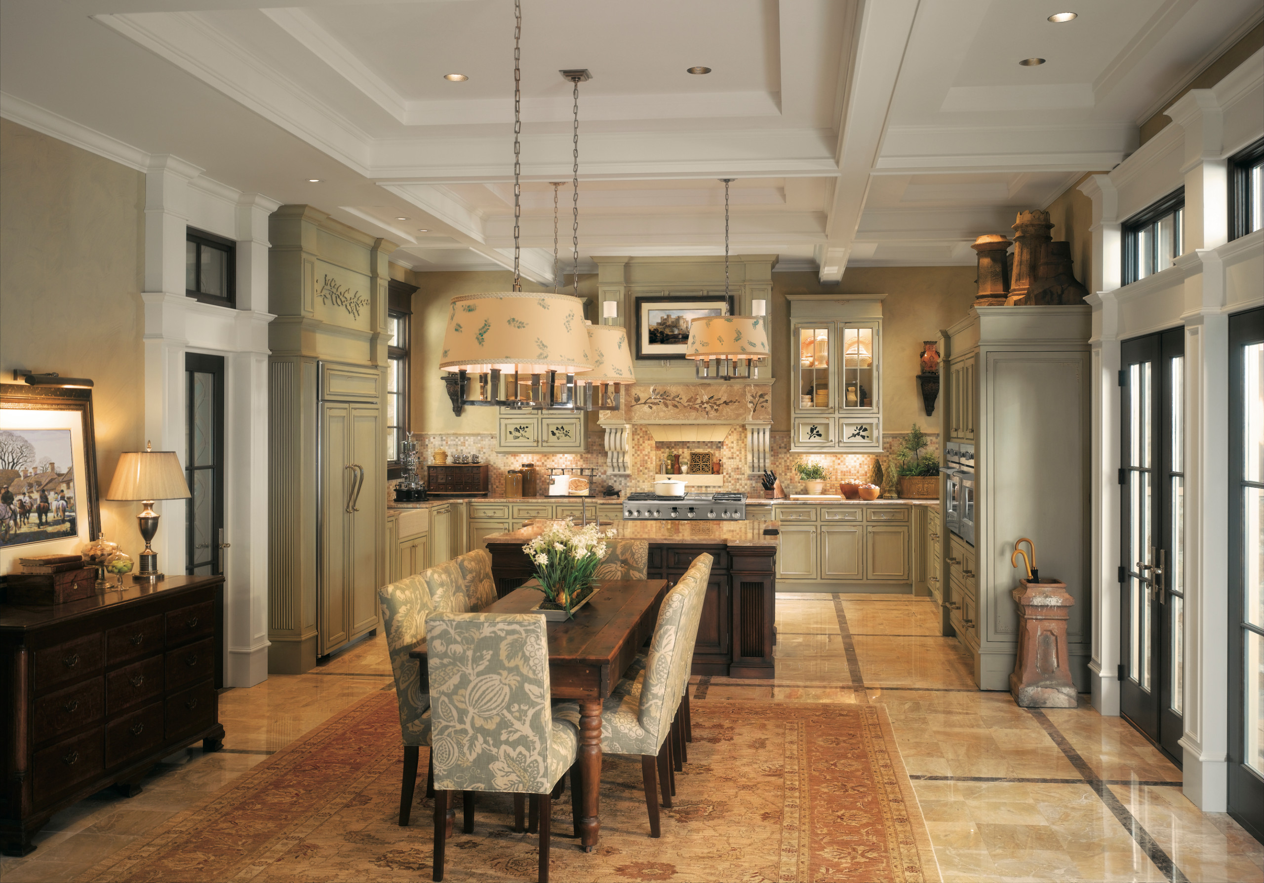 75 Beautiful French Country Dining Room Pictures Ideas January 2021 Houzz