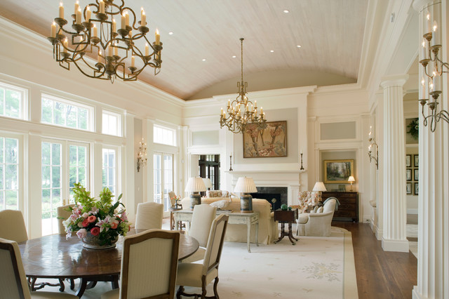 Georgia Greek Revival Traditional Dining Room By