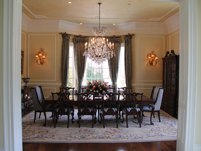 GEORGIAN STYLE Traditional Dining Room