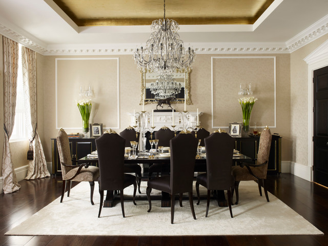 Georgian Townhouse Dining Room Traditional Dining Room London By Oliver Burns