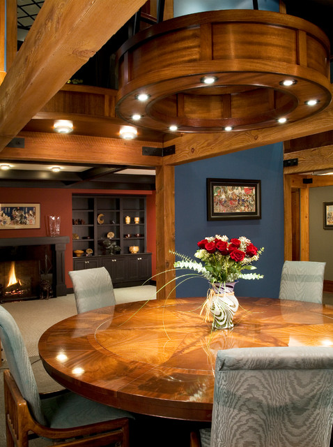 Gig Harbor Residence Contemporary Dining Room Seattle By Roger Turk N