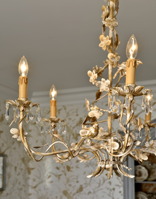 Gilded Crystal Chandelier traditional-chandeliers