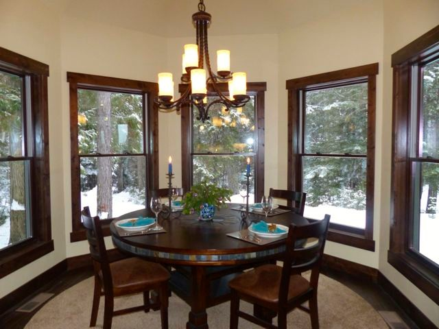 glacier bear retreat craftsman dining room other metro by