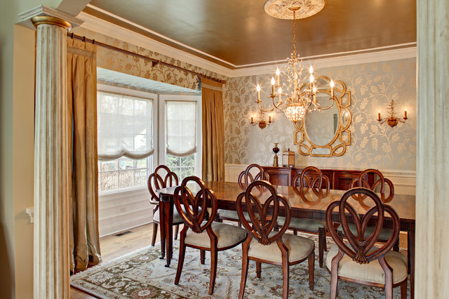 Glamorous Dining Room traditional dining room