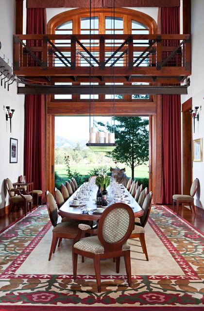Glen Ellen Residence traditional-dining-room
