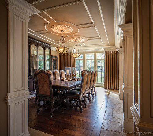 Traditional Dining Room by Wheaton Architects & Building Designers Derrick Architecture