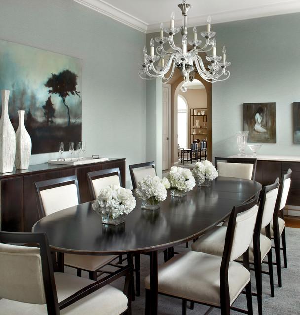 Glencoe Residence traditional-dining-room
