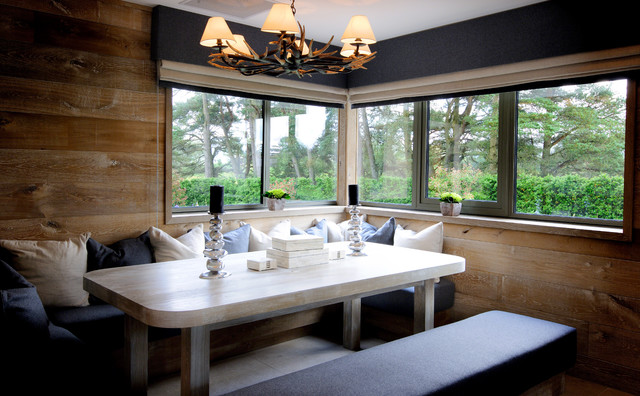 Gleneagles private residence contemporary dining room for Best private dining rooms cheshire