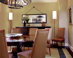 Glenn Gissler Design contemporary dining room
